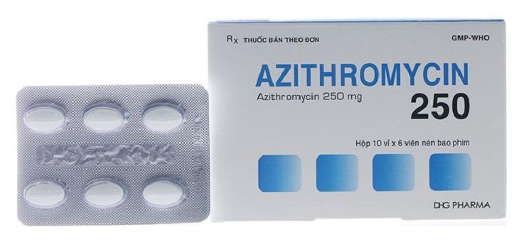 Azithromycin dùng để điều trị viêm tai giữa cấp nếu người bệnh dị ứng với penicillin