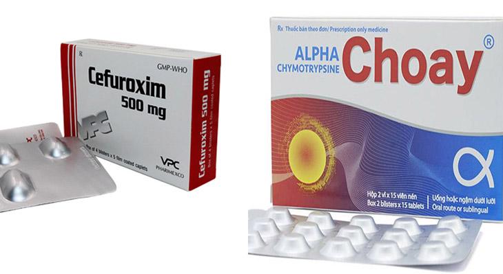 Đơn thuốc trị viêm amidan cấp