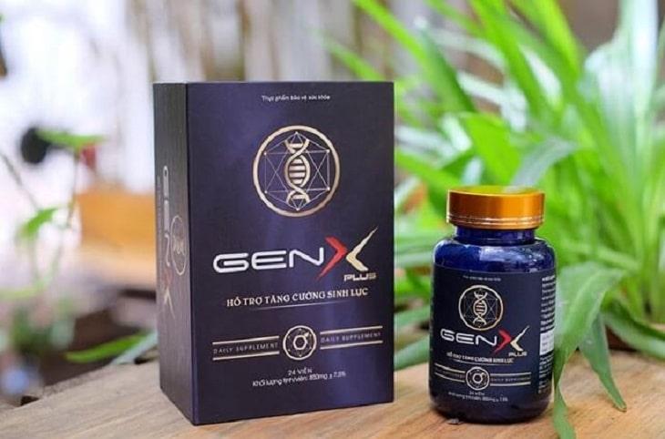 Thực phẩm chức năng tăng cường sinh lý nam Gen X Plus