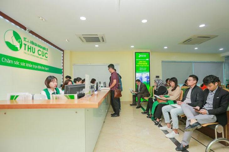 Bệnh quốc Tế Thu Cúc với chất lượng dịch vụ hàng đầu
