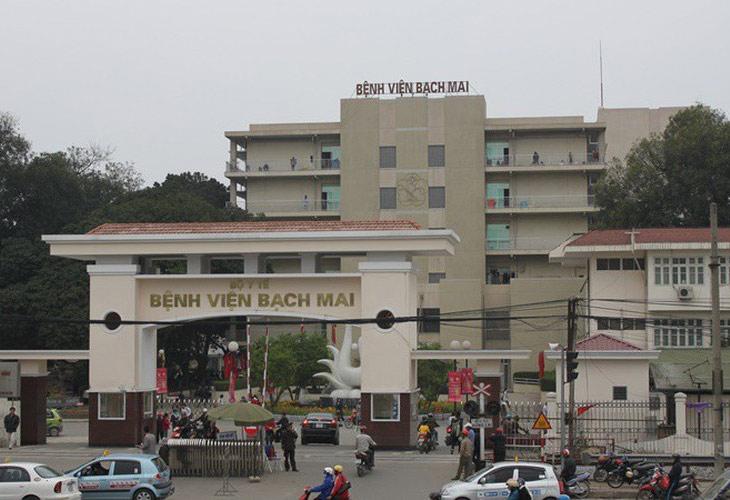 Bệnh viện Bạch Mai là cơ sở khám và điều trị bệnh viêm tai giữa cho trẻ hàng đầu cả nước