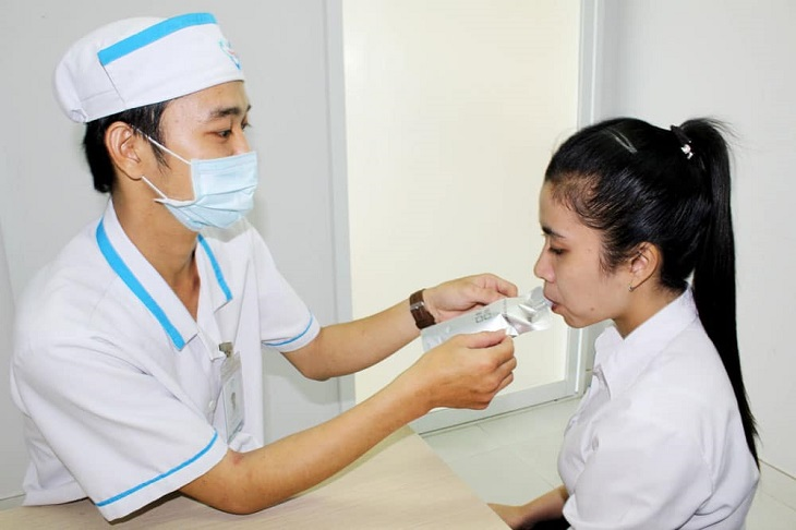 Test thở với urea C14 giúp bạn nhanh chóng phát hiện bệnh
