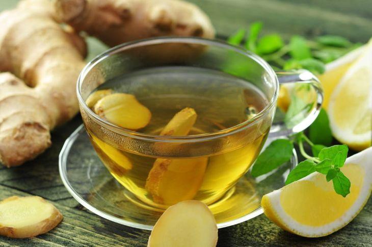 Uống trà gừng có tác dụng trị mất ngủ ban đêm