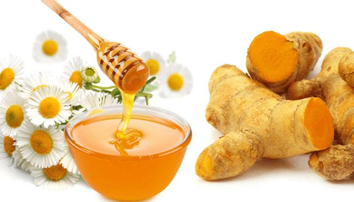 Sử dụng nghệ và mật ong điều trị bệnh hiệu quả