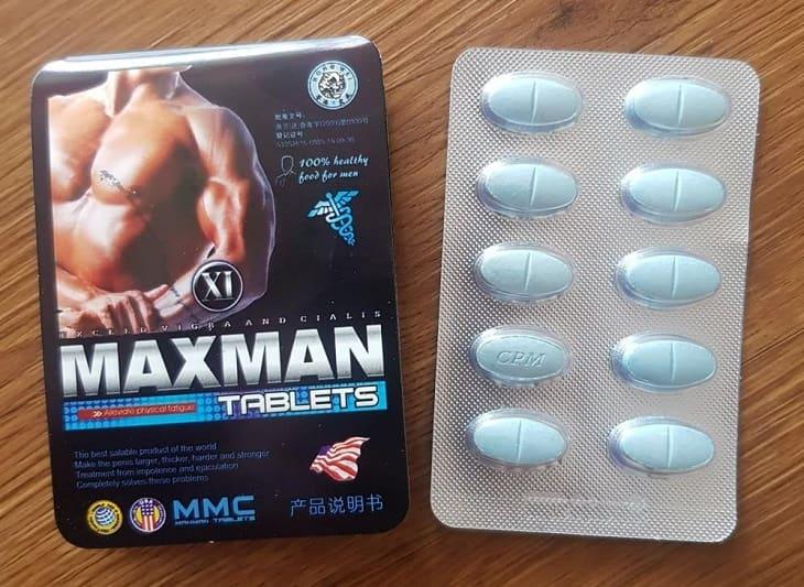 Thuốc tăng cường sinh lý Maxman có thực sự làm to cậu nhỏ?