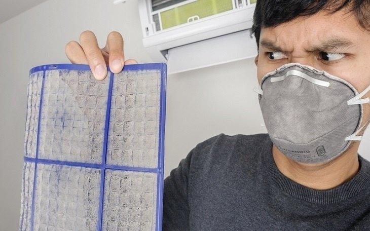 Điều hòa lâu không vệ sinh là môi trường cho vi khuẩn, nấm gây bệnh phát triển