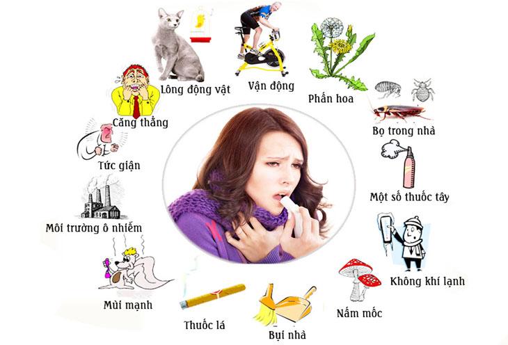 Có nhiều tác nhân trong môi trường gây viêm mũi dị ứng