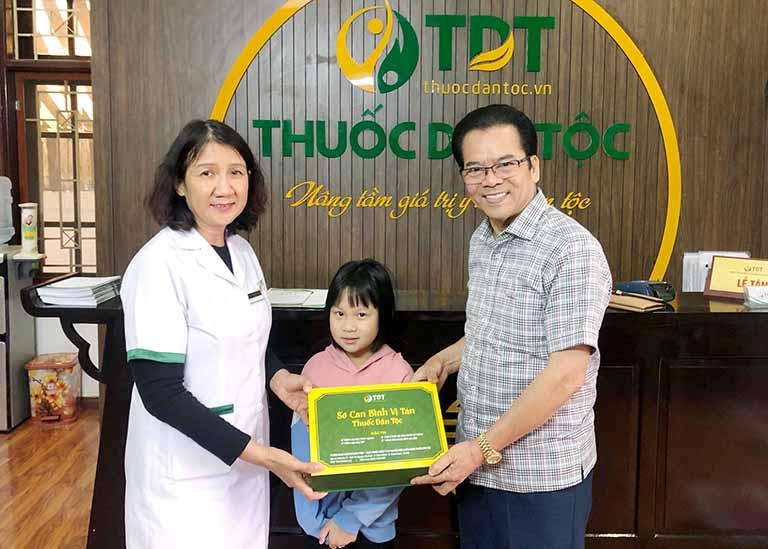 Cháu NSND Trần Nhượng dùng Sơ can Bình vi tán điều trị dạ dày HP theo phác đồ riêng biệt