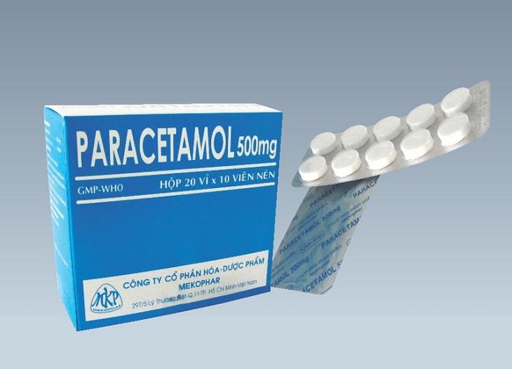 Paracetamol - thuốc giảm đau cho người bị viêm tai giữa