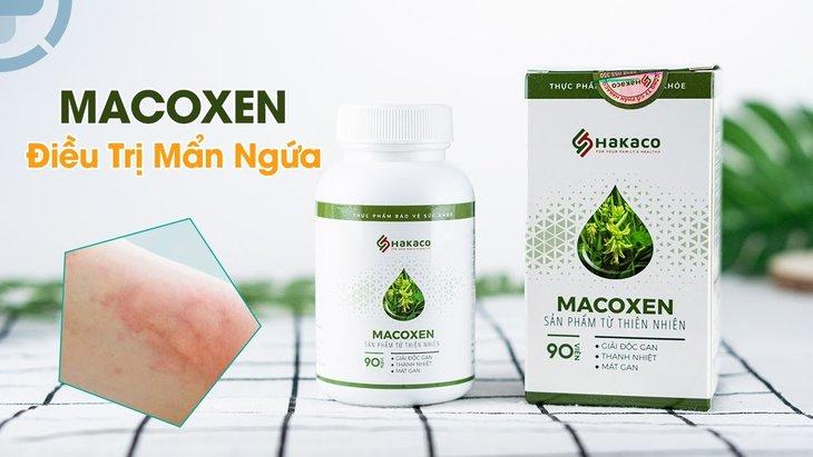 Thuốc trị mề đay Macoxen