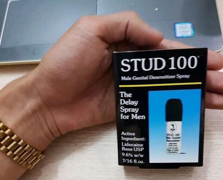 Stud 100 có tác dụng rất tốt đối với những quý ông cần kìm hãm xuất tinh trong cuộc yêu