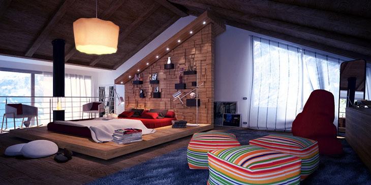 Hãy cố gắng tạo cho mình một không gian lý tưởng khi ngủ