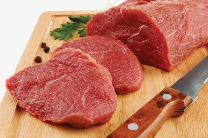 Bị vi khuẩn HP không nên ăn gì- thịt đỏ