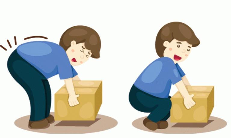 Không làm việc nặng, chú ý khi bê vác để ngăn ngừa bệnh thoái hóa tiến triển nặng