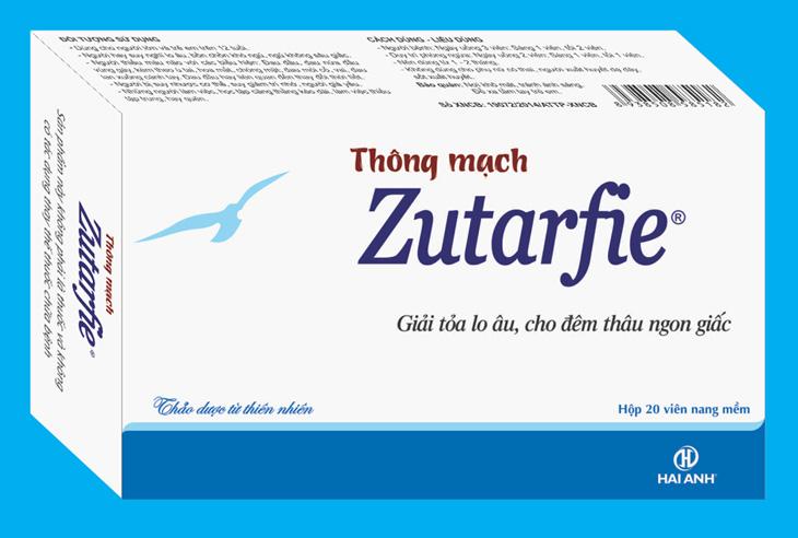 Zutarfie - Thuốc trị mất ngủ của Học viện Quân y