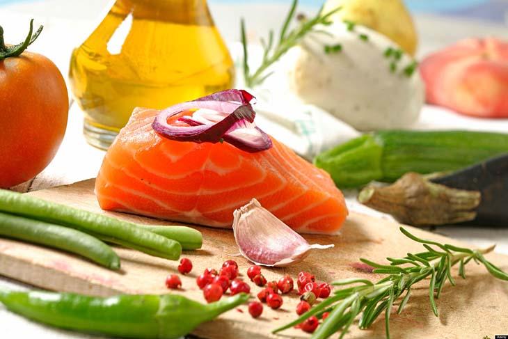 Chế độ ăn cũng là một cách điều trị tinh trung loãng