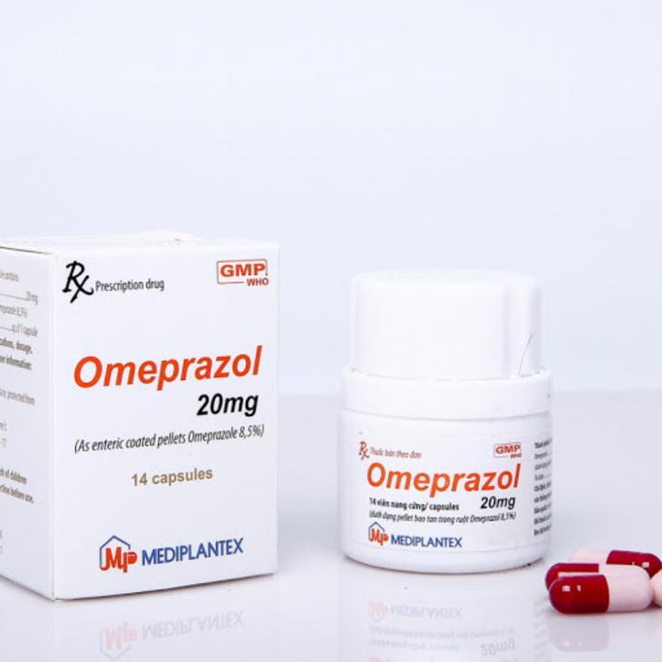 Thuốc dạ dày omeprazol 10mg/ 20mg/ 40mg