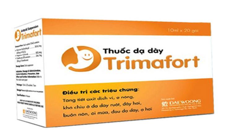 Trimafort trị đau dạ dày nhanh chóng