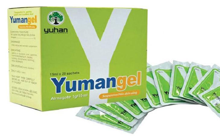 Yumangel - Chữa viêm loét dạ dày
