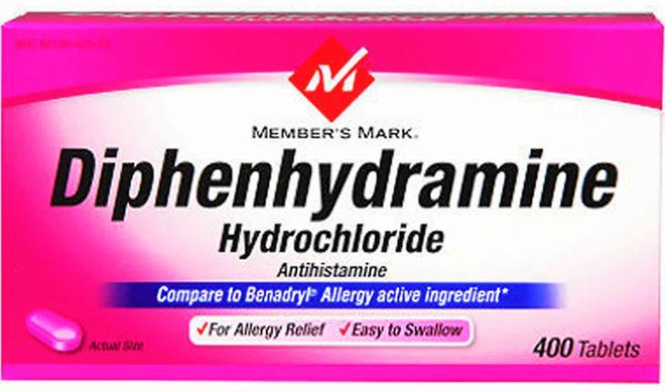Thuốc Diphenhydramine dùng cho các trường hợp bị mất ngủ do dị ứng