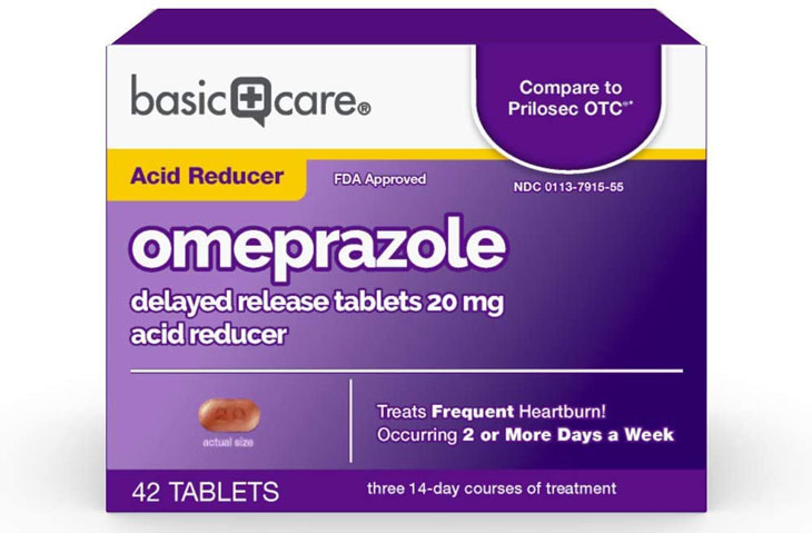Thuốc ức chế bơm proton: Omeprazole