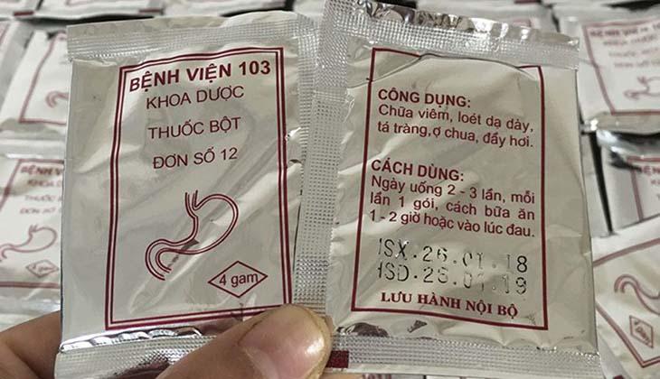 Nên mua thuốc dạ dày viện 103 ở nơi uy tín