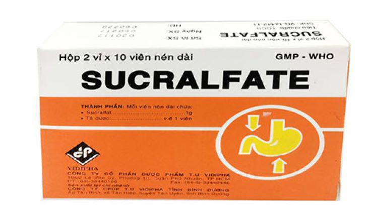 Thuốc đau dạ dày Sucrafate