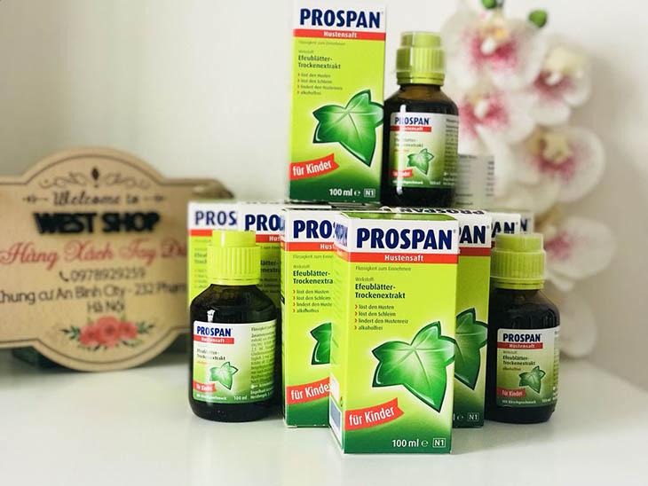 Prospan đem tới hiệu quả tốt nên được rất nhiều quốc gia sử dụng