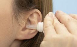 Thuốc nhỏ tai điều trị viêm tai giữa cho bà bầu