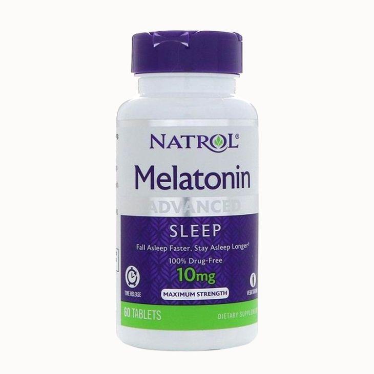 Thuốc trị mất ngủ của Mỹ Natrol Melatonin