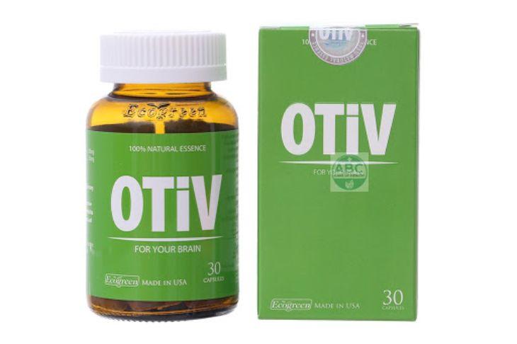 Thực phẩm chức năng hỗ trợ chữa bệnh mất ngủ Otiv