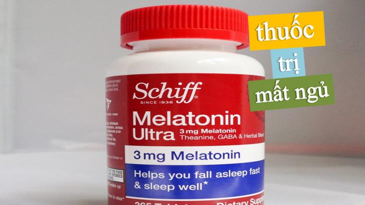 Schiff Melatonin Ultra 3mg giúp ngủ ngon hơn, sâu giấc hơn