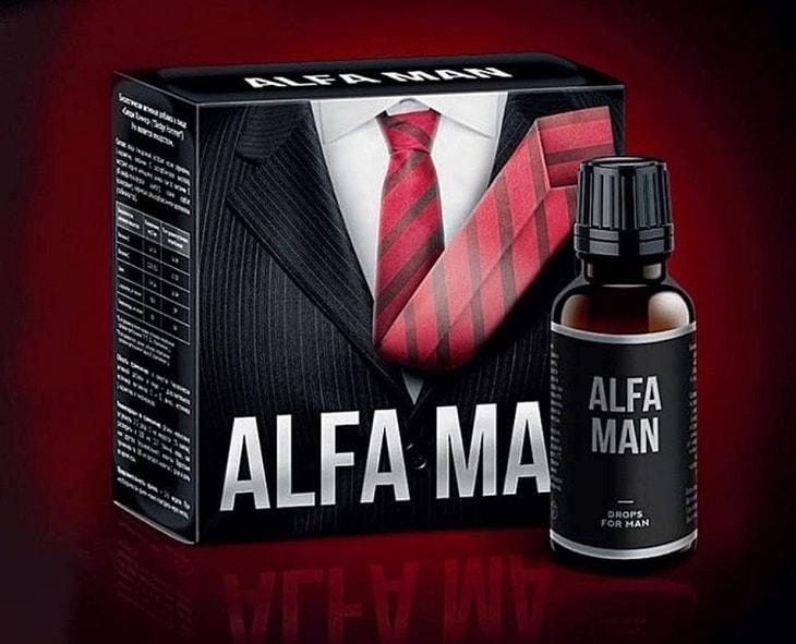Alfa Man là dược phẩm dành cho nam do Nga sản xuất