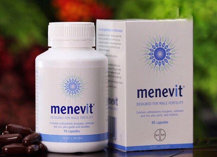 Menevit giúp hỗ trợ điều trị các vấn đề thường gặp về tinh trùng
