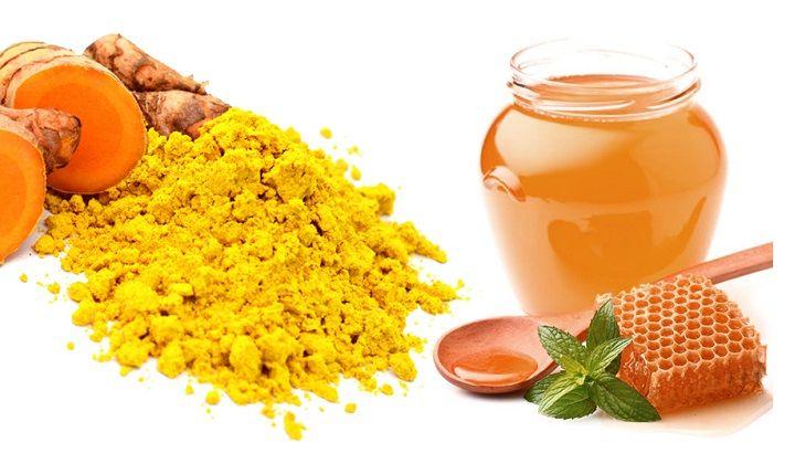 Dùng tinh bột nghệ và mật ong chữa viêm đại tràng