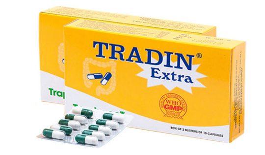 Thuốc trị viêm đại tràng Tradin Extra được nhiều người bệnh tin tưởng sử dụng