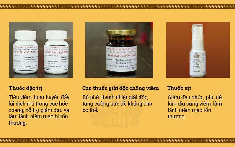 """Liệu trình """"3 trong 1"""" của bài thuốc viêm mũi dị ứng Đỗ Minh Đường"""
