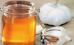 Kết hợp tỏi và mật ong