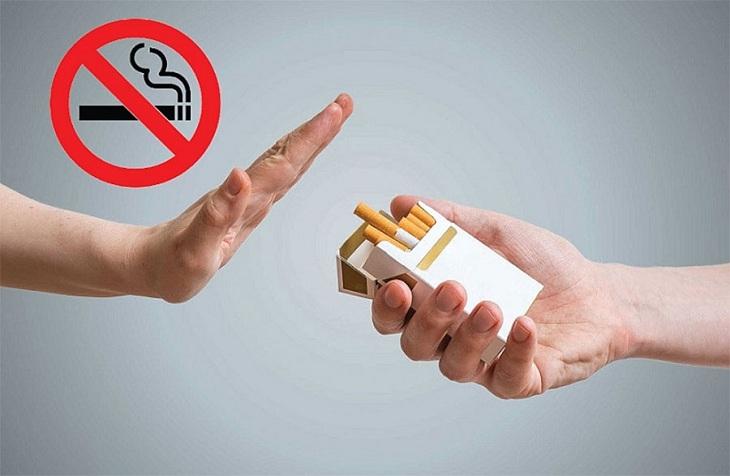 Phụ nữ mang thai cần tránh xa thuốc lá và khói thuốc