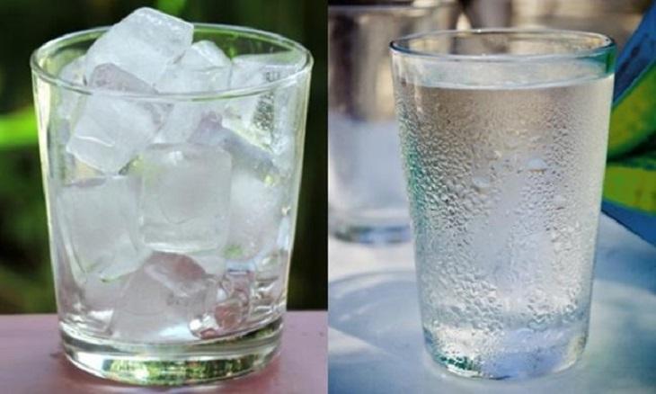 Nước đá, nước lạnh là tác nhân gây viêm họng ở trẻ