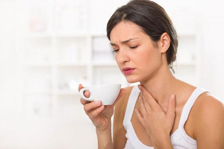 Ợ hơi, ợ chua là một trong những triệu chứng nhiễm khuẩn HP