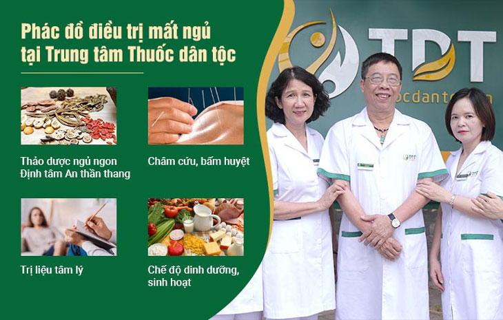 Phác đồ điều trị mất ngủ kinh niên của Trung tâm Thuốc dân tộc