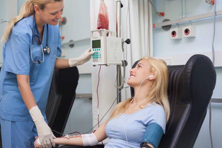 Sử dụng hóa trị điều trị bệnh