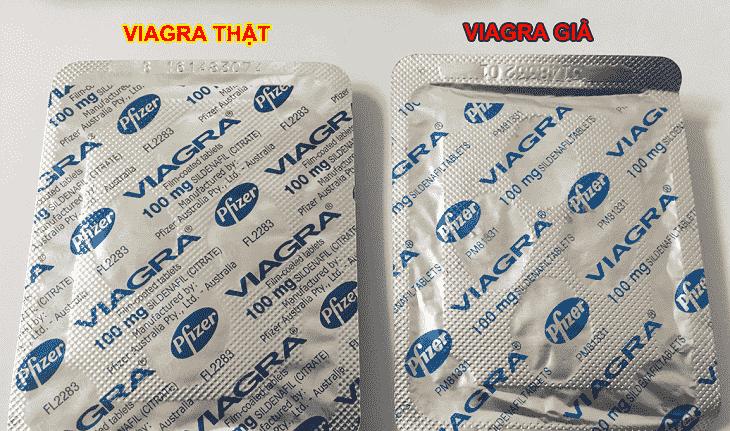 Phân biệt Viagra thật và giả thế nào?