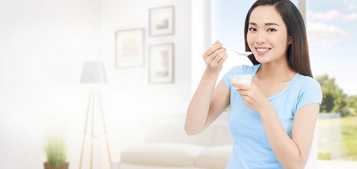 Sữa chua có nhiều vi khuẩn có lợi tốt cho đường ruột