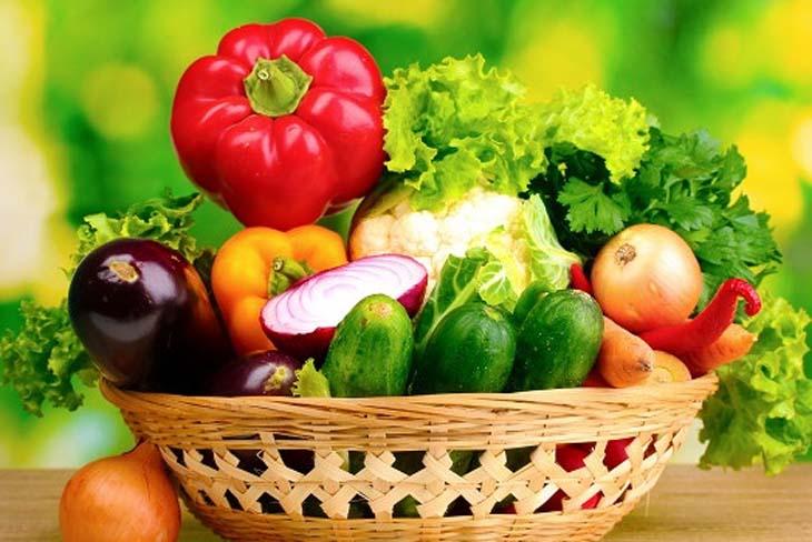 Rau xanh rất tốt cho người viêm hang vị dạ dày
