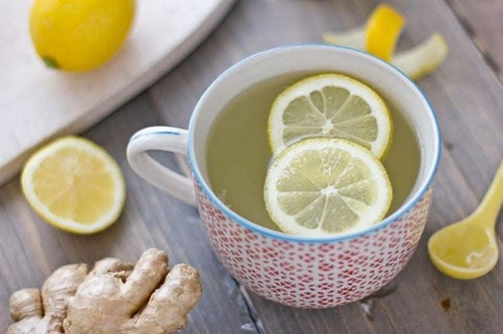 Nước chanh tươi trị viêm họng, tăng cường chất chống oxy hóa