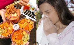 Viêm mũi dị ứng kiêng ăn gì, thực phẩm nào cần bổ sung?