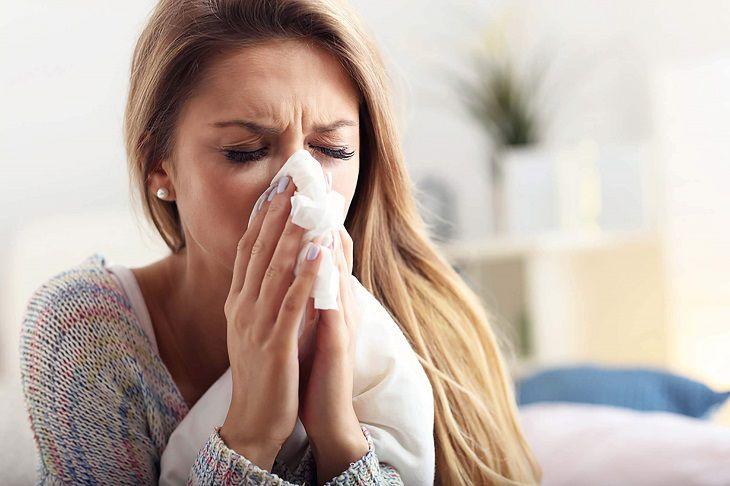 Có nhiều dấu hiệu của bệnh viêm mũi dị ứng máy lạnh