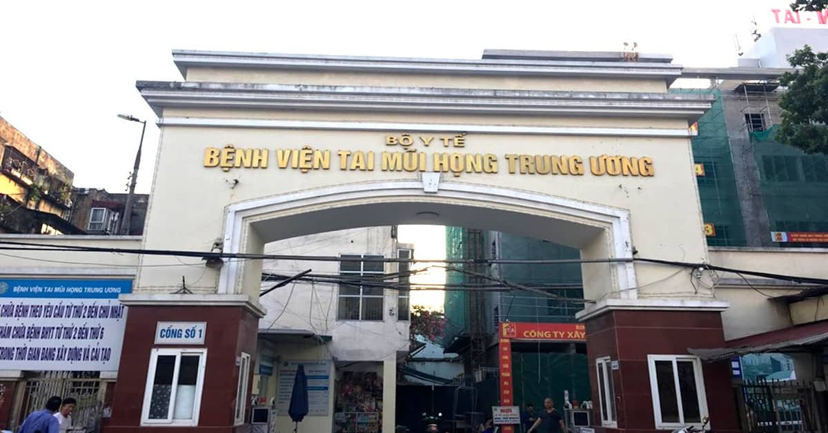 Bệnh viện Tai Mũi Họng Trung Ương Hà Nội là một trong những cơ sở khám chữa bệnh viêm tai giữa uy tín bậc nhất